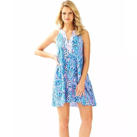 154f3c7c81bd Lilly Pulitzer Dresses & Skirts - Lilly Pulitzer Achelle Swing Tunic Dress  Tic Tac